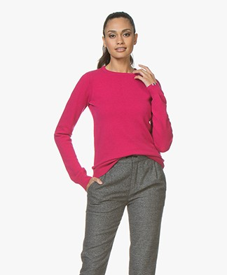 extreme cashmere N°41 Body Basic Cashmere Sweater - Kiss