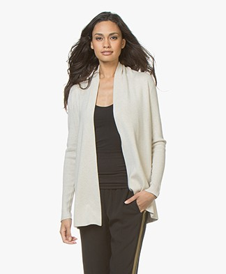 LaSalle Open Rib Cardigan from Soy Beans - Beige