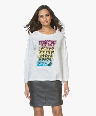 MKT Studio Tadeg Stones Long Sleeve - Off-white