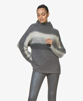 Rag & Bone Holland Coltrui met Zijde - Charcoal