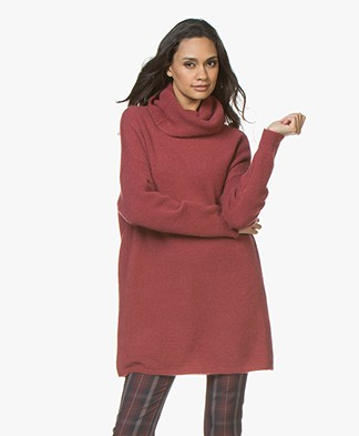 Repeat Cashmeremix Oversized Coltrui - Rust