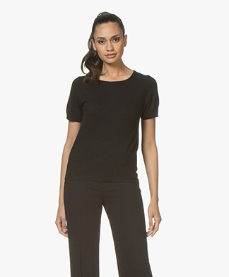 Resort Finest Lido Pullover with Round Neck - Black
