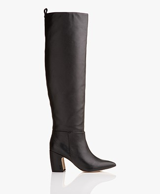 Sam Edelman Hutton Nappa Leather Boots - Black