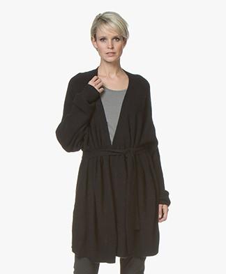 American Vintage Wopy Oversized Cardigan - Black