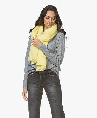 Repeat Cashmere Sjaal - Pineapple