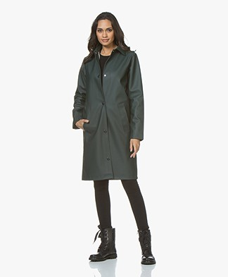 Petit Bateau Try Coated Urban Rain Coat - Sherwood