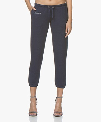 Zadig & Voltaire Sirah Cropped Sweatpants - Marine