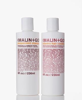 MALIN+GOETZ Peppermint Shampoo en Cilantro Conditioner Kit