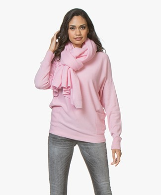 Repeat Cashmere Scarf - Rose