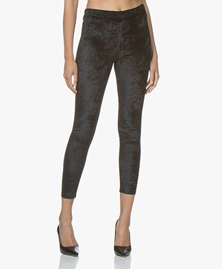 BRAEZ Legend Velvet Leggings - Black