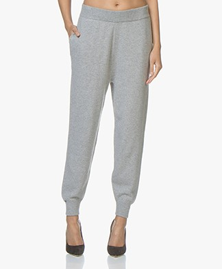 extreme cashmere N°56 Yogi Knitted Pants - Grey