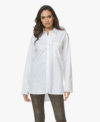 Filippa K Poplin Shirt - White