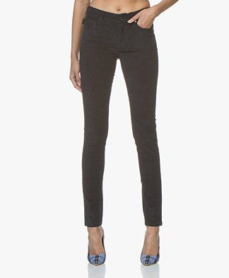 Zadig & Voltaire Eva Slim-fit Corduroy Broek - Ink