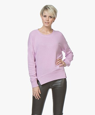 Denham Captain Fleece Sweater - Orchid Haze