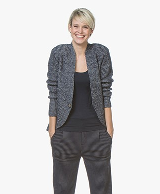 Josephine & Co Jobien Knitted Cardigan - Navy