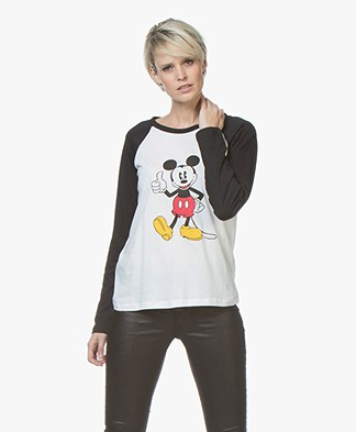 MKT Studio Tino Mickey Mouse Long Sleeve - Off-white