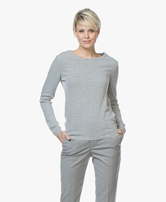 Resort Finest Forte Round Neck Pullover - Grey