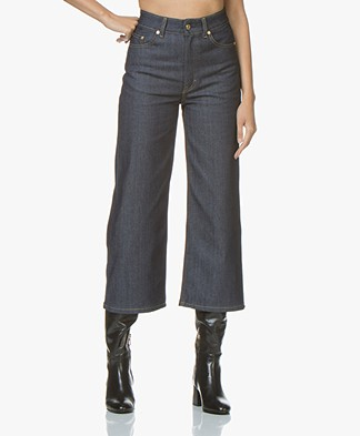 Filippa K FK JEANS Laurie Raw Jeans - Dark Blue