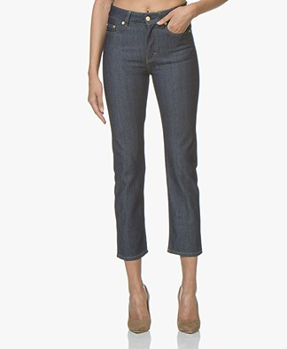 Filippa K Stella Raw Jeans - Dark Blue