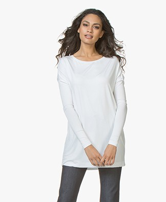 By Malene Birger Jersey Tunic Alloi - White
