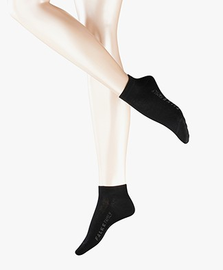 Falke Family Women Sneaker Socks - Black