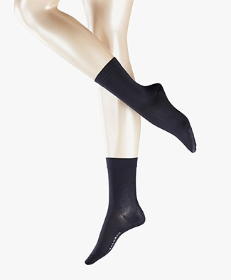 Falke Cotton Touch Women Socks - Dark Navy