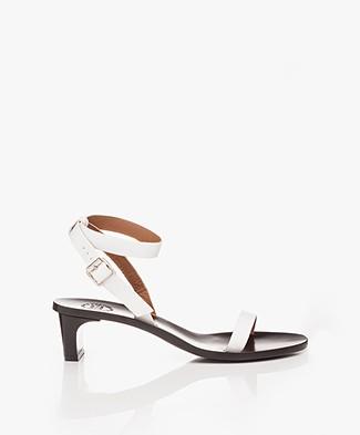ATP Atelier Cachi Vacchetta Heeled Sandals - White
