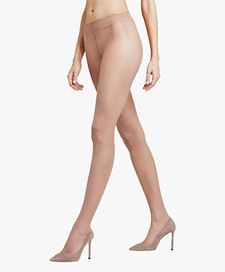 FALKE Shelina 12 Toeless Tights - Powder