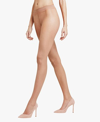 FALKE Shelina 12 denier Toeless Tights - Sun