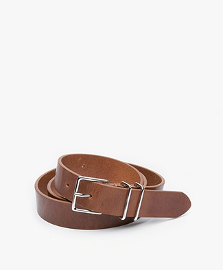 Filippa K Leather Hip Belt - Brandy
