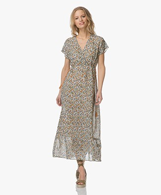 Indi & Cold Crepe-voile Dress - Azafran
