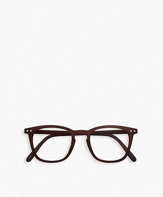 IZIPIZI  READING #E Limited Edition Reading Glasses - Dark Wood