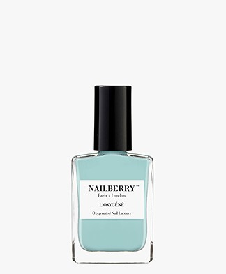 Nailberry L'oxygene Nail Polish - Baby Blue