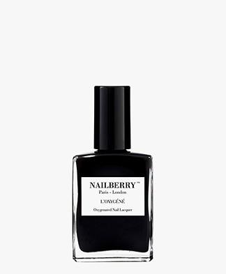 Nailberry L'oxygene Nagellak - Black Berry