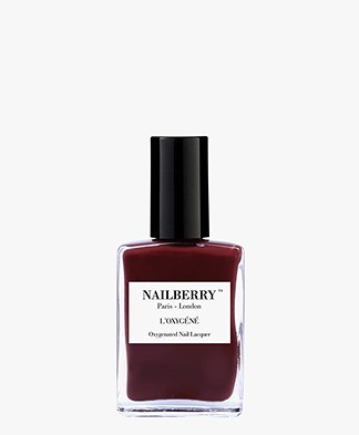 Nailberry L'oxygene Nagellak - Dial M For Maroon