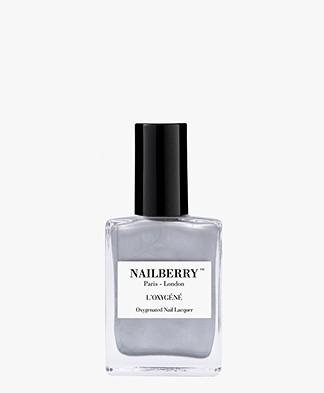 Nailberry L'oxygene Nail Polish - Silver Lining