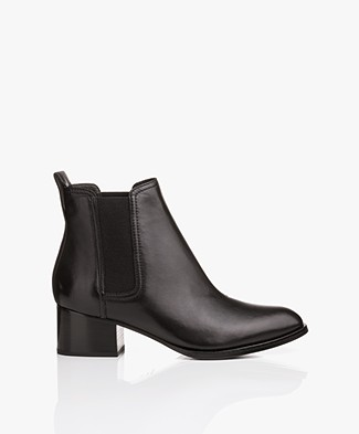 Rag & Bone Walker Leather Boots - Black