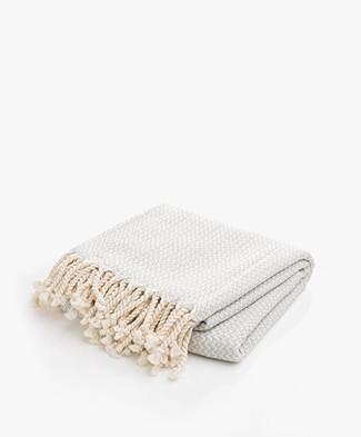 Bon Bini Hammam Towel Sabadeco 180cm x 90cm - Light Grey