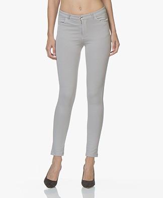 BRAEZ Peri Jersey Slim-fit Pants - Silver Grey