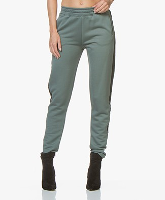 BY-BAR Funky Sweatpants - Dark Sage