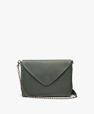 BY-BAR Run Leather Shoulder Bag - Green
