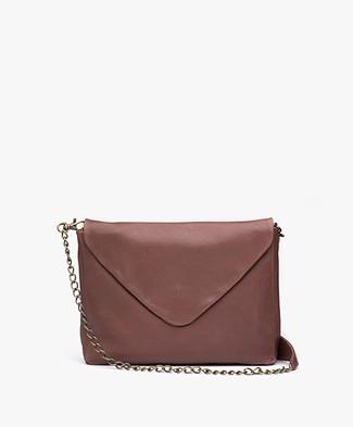 BY-BAR Run Leather Shoulder Bag - Plum