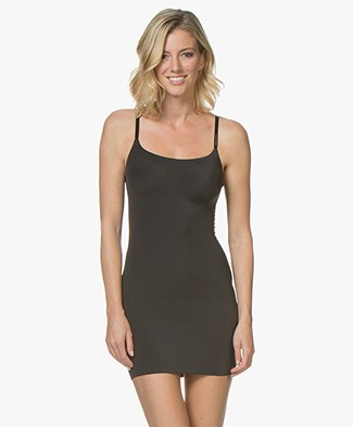 Calvin Klein Invisibles Full Slip Dress - Black