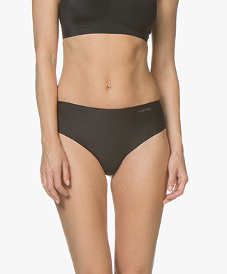 Calvin Klein Invisibles High Waist Thong - Black