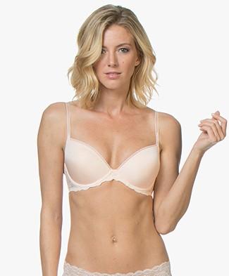 Calvin Klein Seductive Comfort Demi Bra - Gold Blush
