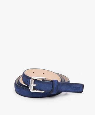 Closed Suede Gradient Belt - Summer Evening