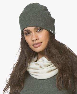 extreme cashmere N°77 Bijou Beanie - Khaki