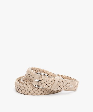Filippa K Braided Heupriem - Bone