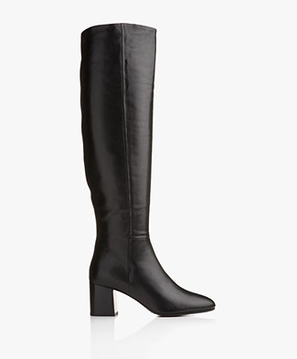 Filippa K Jade High Boots - Black Nappa