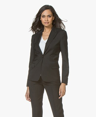 Filippa K Sasha Cool Wool Blazer - Black